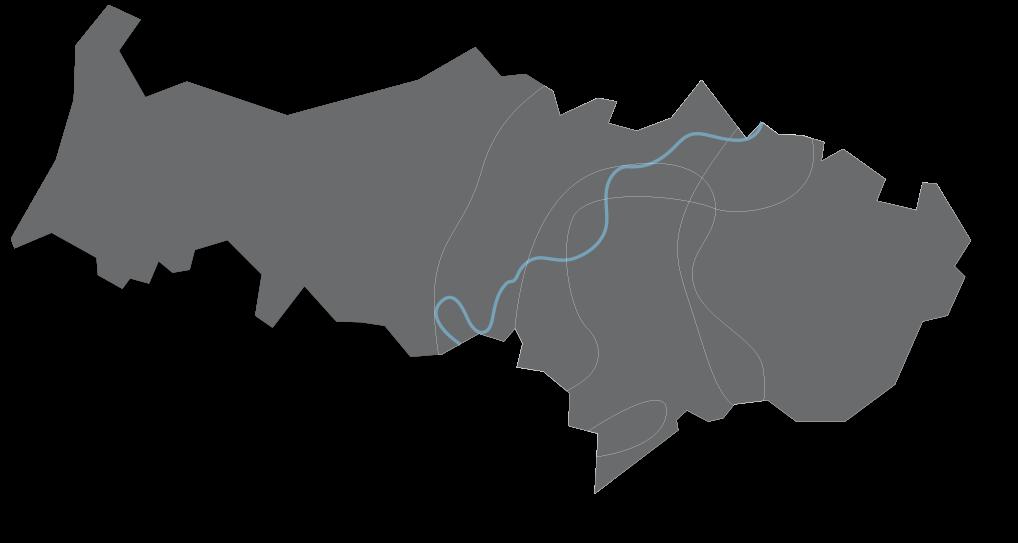 Carte du département Val d'Oise