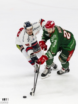 Photo d'un match de hockey des Jokers de Cergy