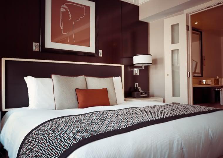 Photo d'une chambre d'hôtel dans le Val d'Oise