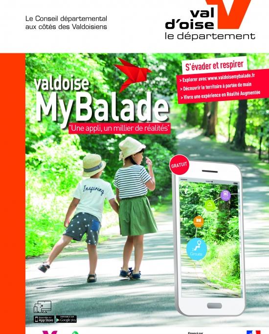Affiche de promotion 2019 de Val d'Oise MyBalae