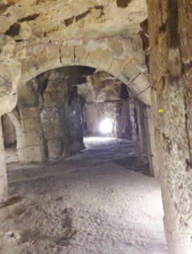 Photo des souterrains de Pontoise