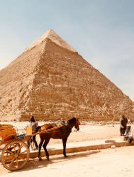 Photo des pyramides d'Egypte