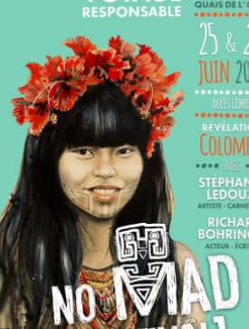 Affiche du No Mad Festival 2016
