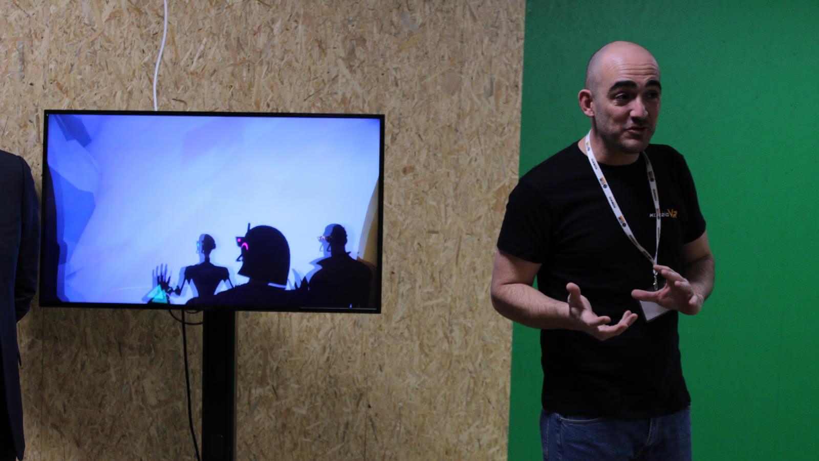 Photo des coulisses du jeu Icecube Protocol à Koezio Cergy dans le Val d'Oise.