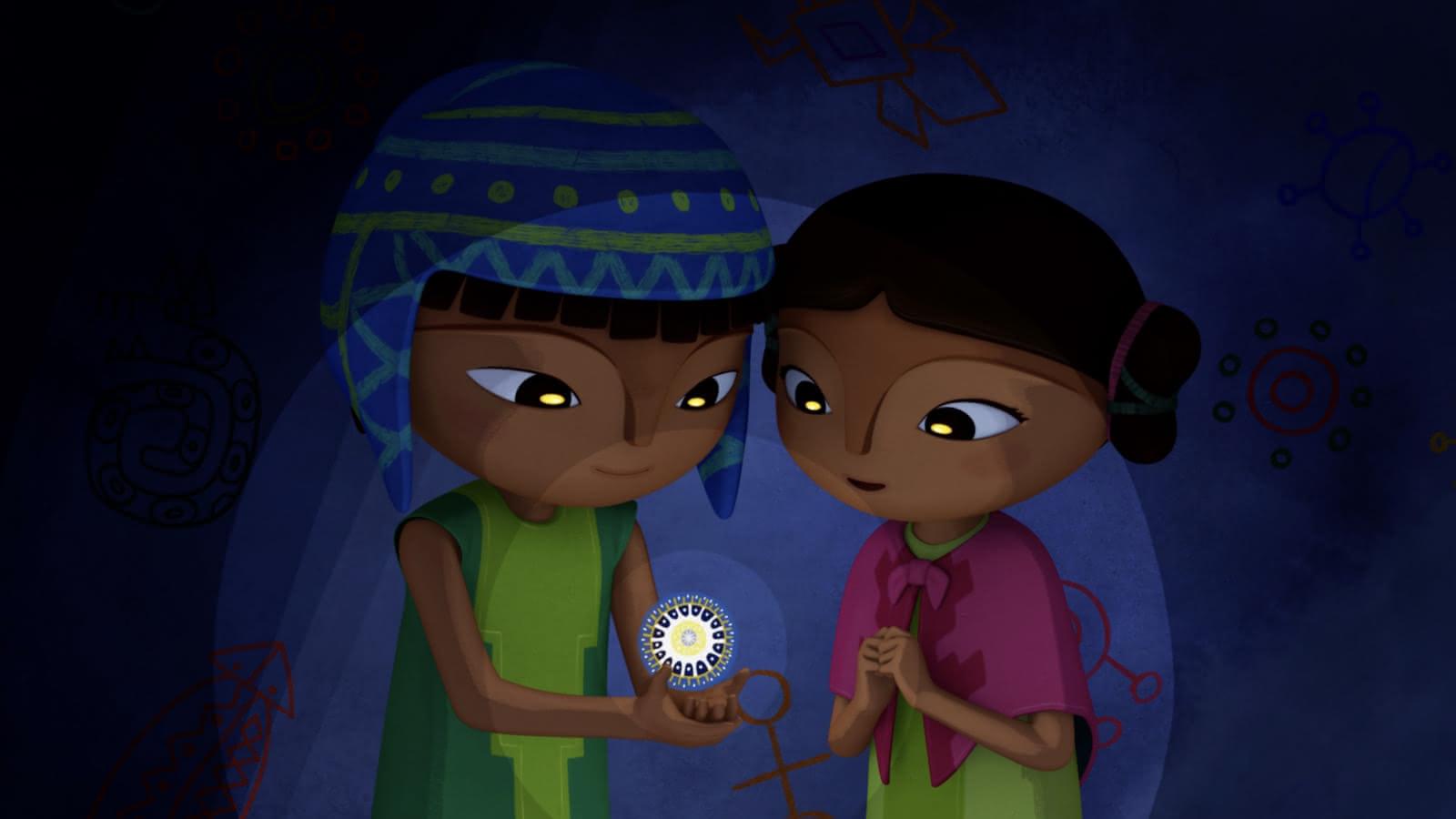 Image du dessin animé Pachamama