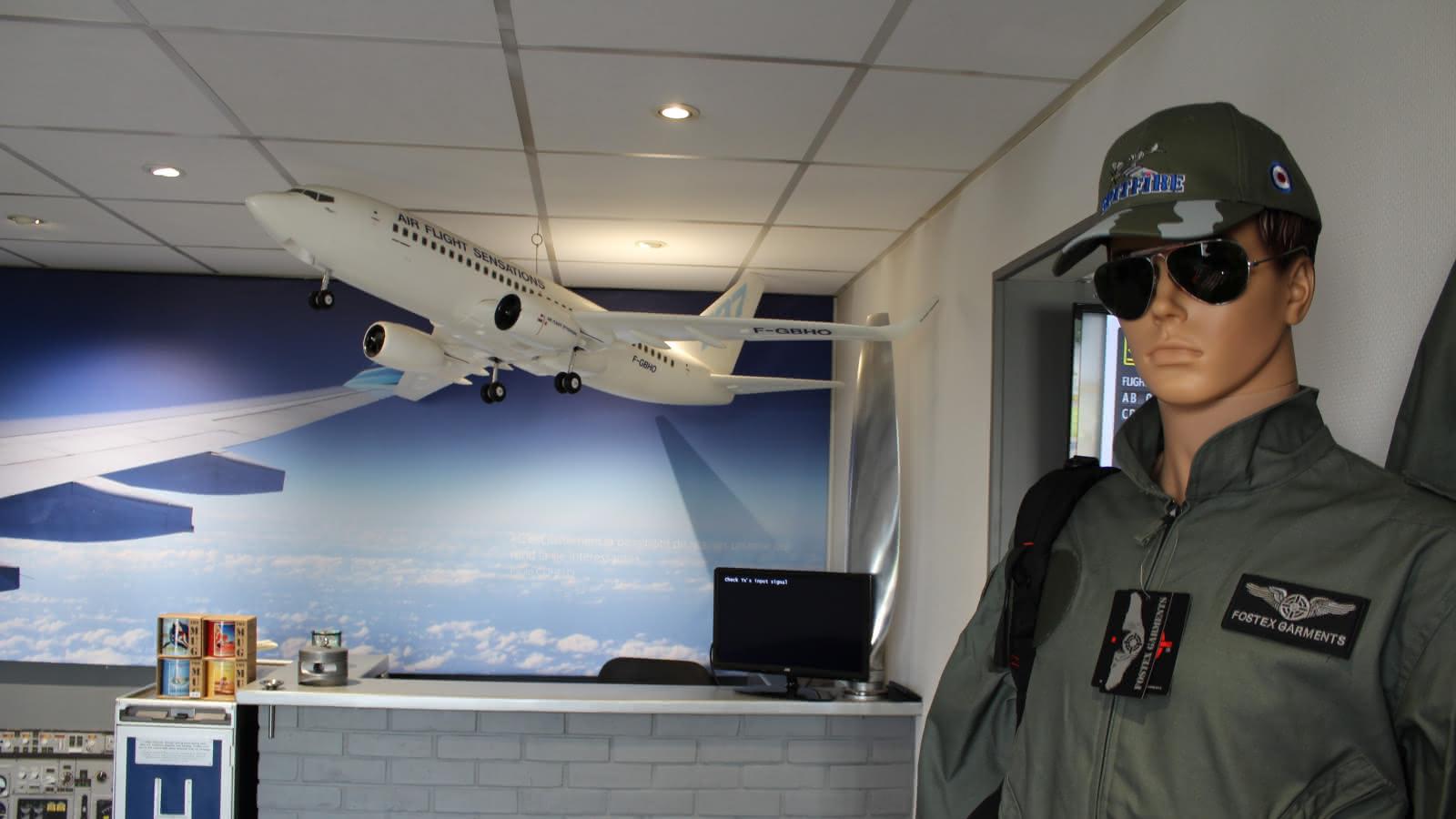 Photo de l'intérieur de l'activité Flight Sensations