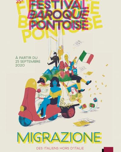 Affiche du Festival baroque de Pontoise