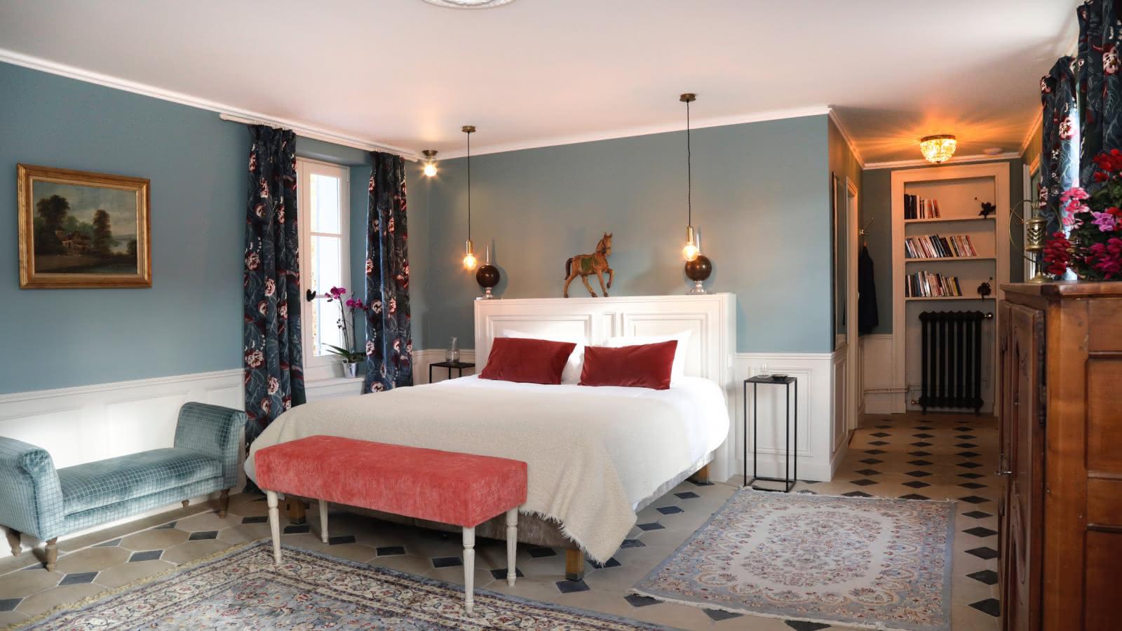 Photo d'une chambre du Domaine du Plessis