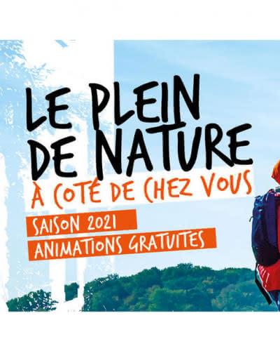 Bannière photo balade en groupe Les Sorties Nature 2021