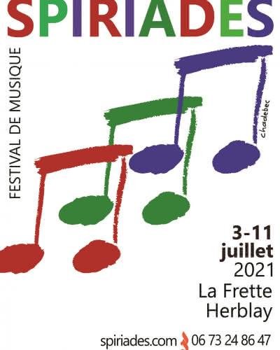 Affiche du Festival Les Spiriades 2021