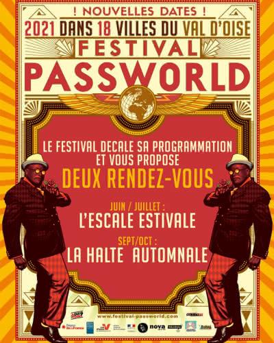 Annonce du report des dates pour le Festival Passworld