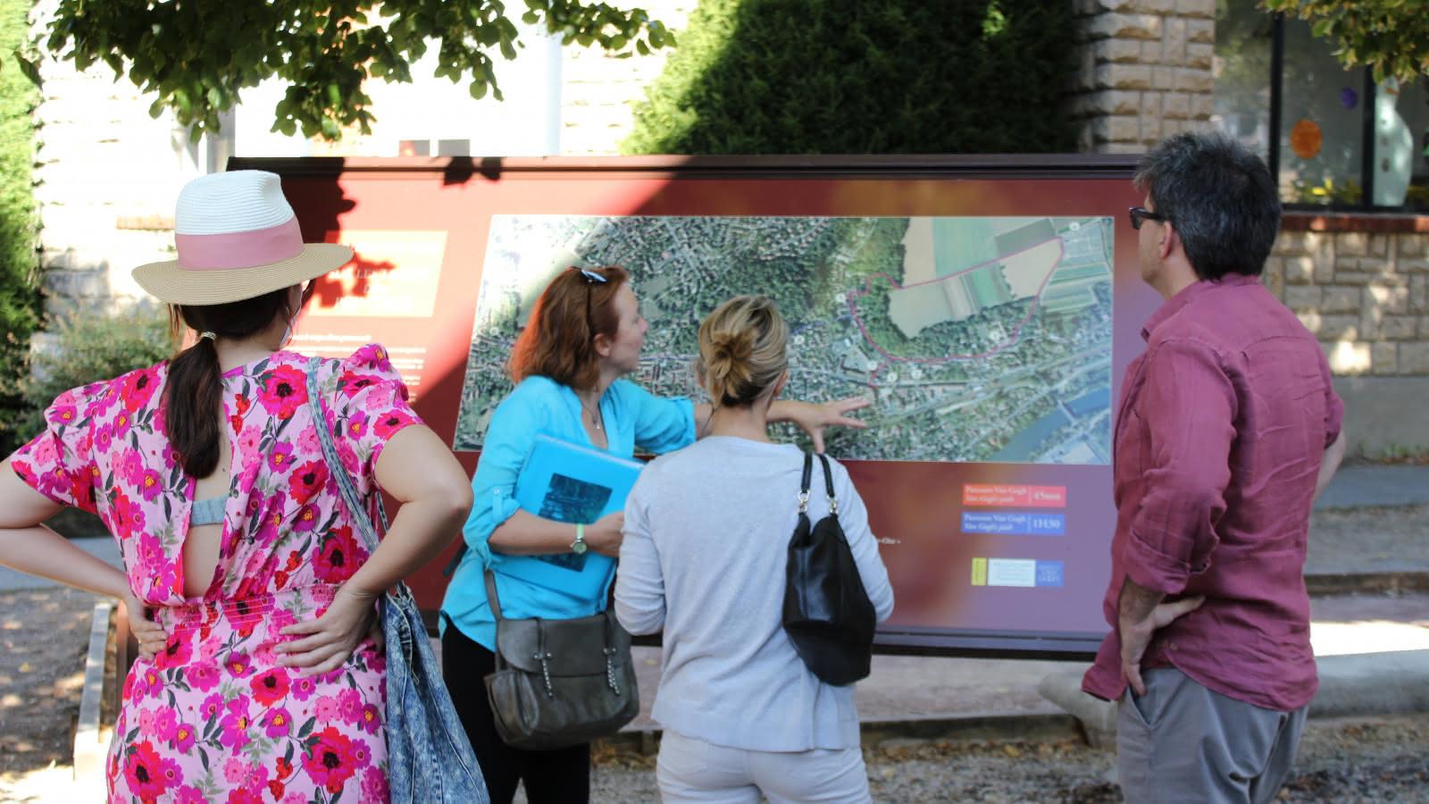 Journée à Auvers-sur-Oise avec BWorld Com et Wwwalk