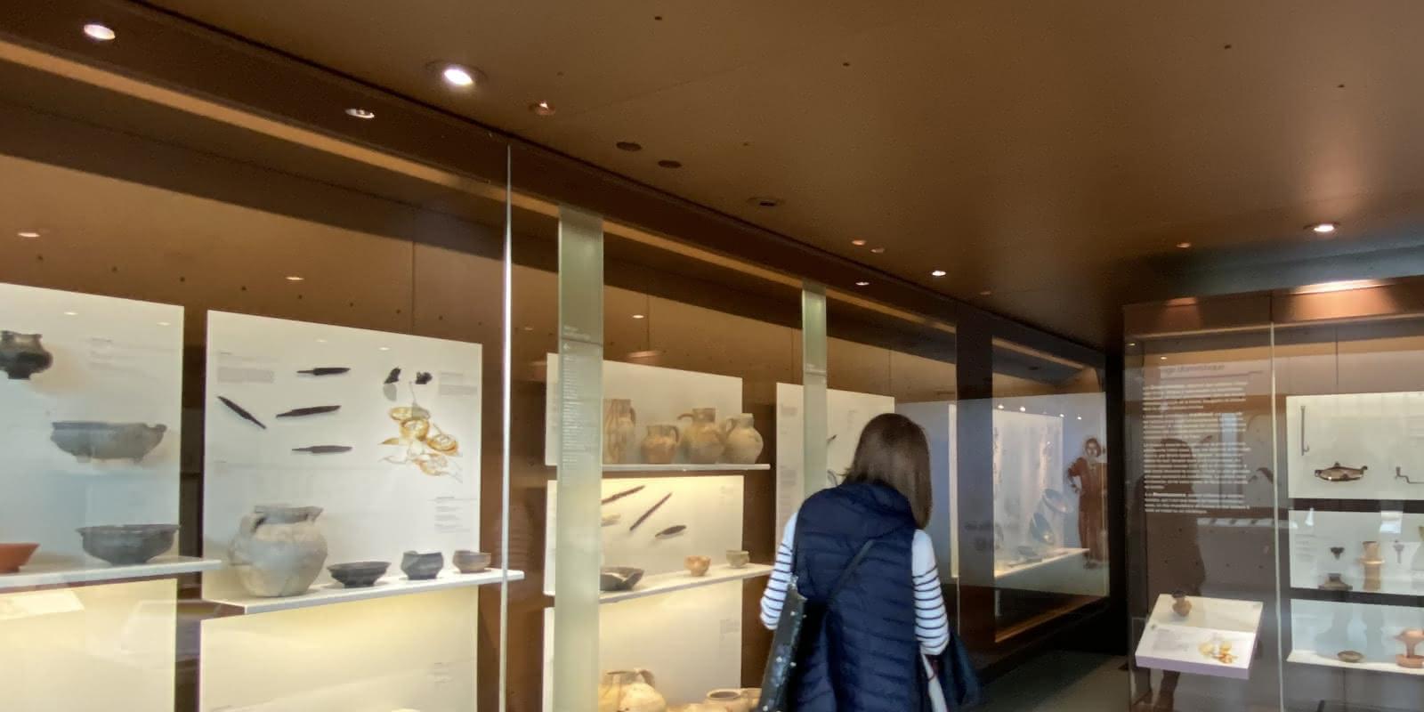 Photo salle du Musée Archéa