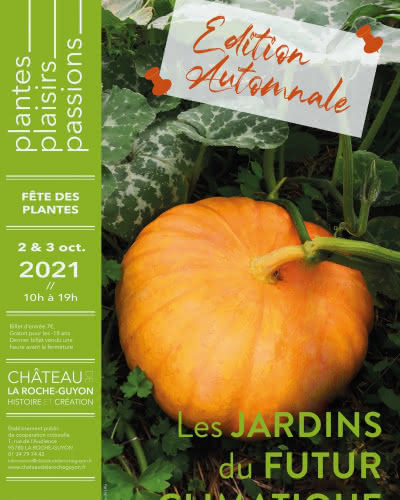 Affiche 2021 Fête des Plantes - Edition automnale