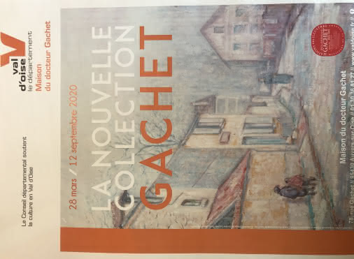 Affiche Exposition La nouvelle collection Gachet