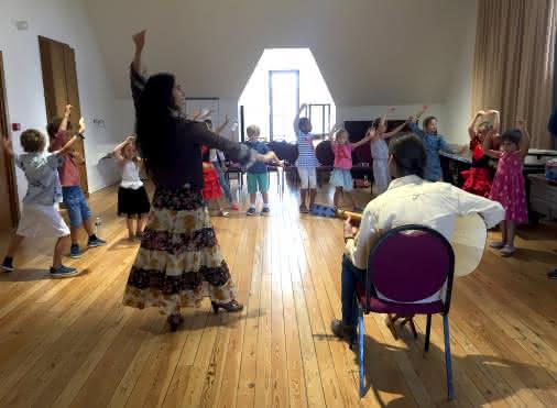 Atelier jeune public : À la découverte du flamenco