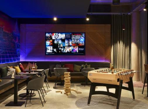 Hotel Moxy : Games area