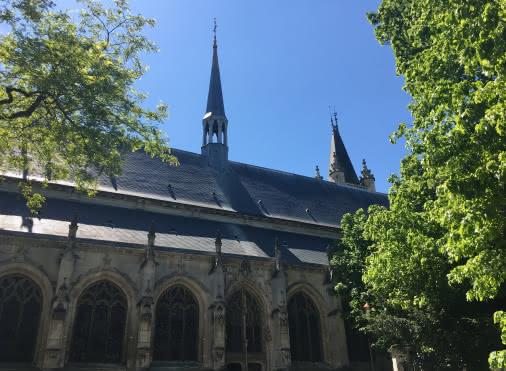 Visite guidée en réalité augmentée de la Collégiale Saint-Martin de Montmorency