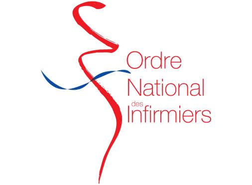 logo caducée ordre  national infirmiers