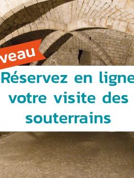 Visites guidées de Juin : Les souterrains de Pontoise
