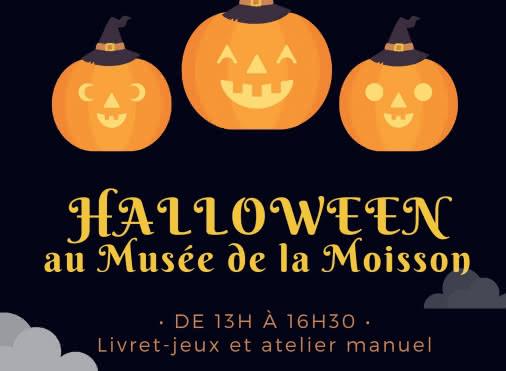 Halloween en famille au musée de la Moisson
