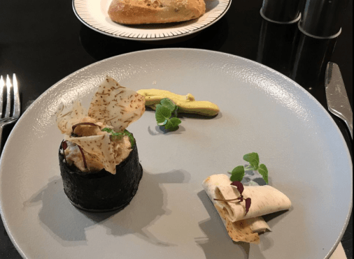 Plat du restaurant The French Taste by Guy Martin