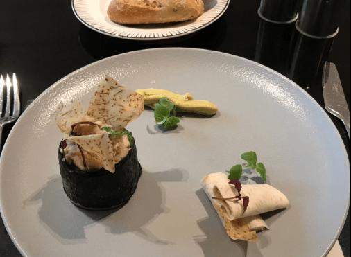 Plat du restaurant The French Taste by Guy Martin