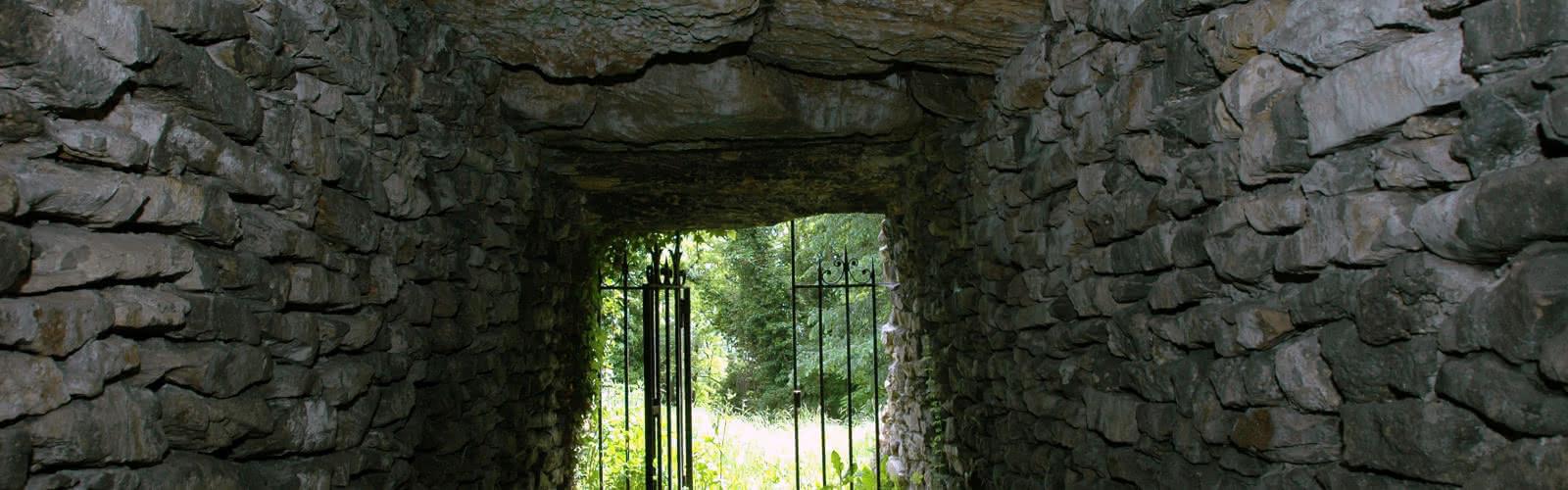 Allée couverte - Ville d'Argenteuil