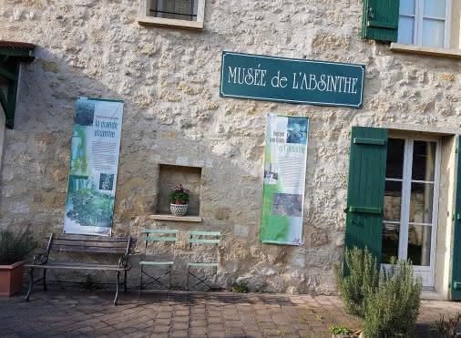Jardin du Musée de l'Absinthe