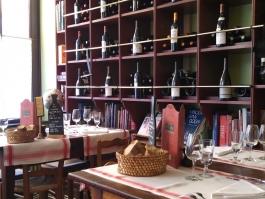 Salle à manger de l'Auberge Ravoux