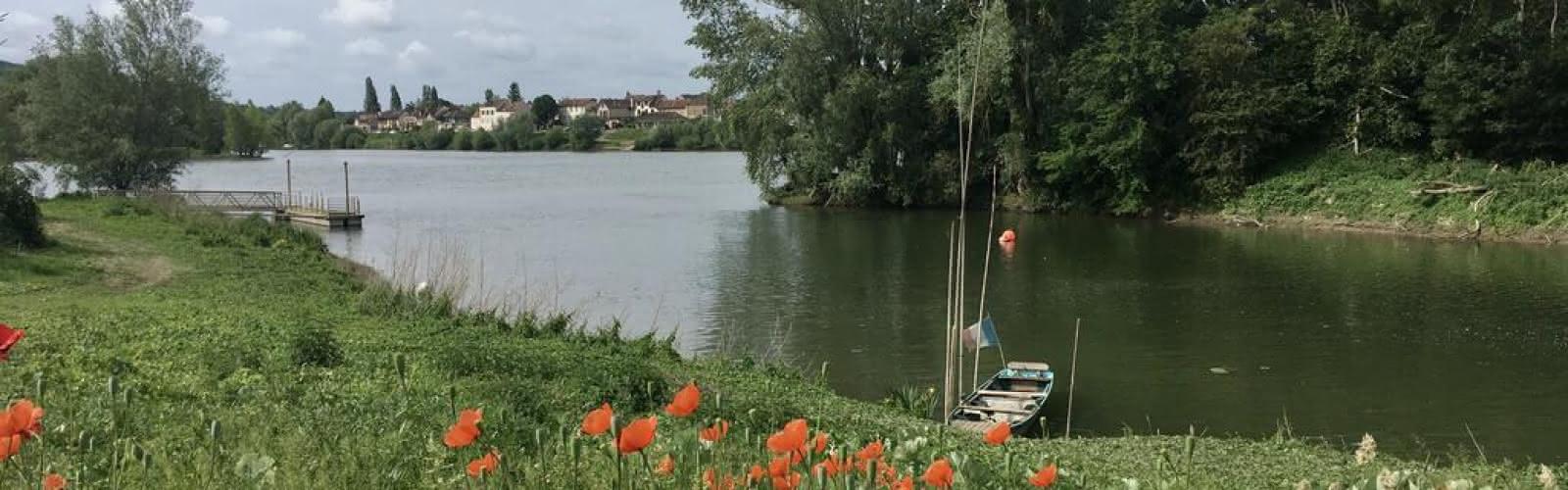 Les bords de Seine à Vétheuil