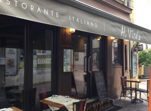 Façade du restaurant Al Vicolo