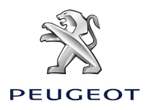logo Peugeot avec le lion debout sur ses pattes arrière tourné vers la gauche les pattes avant comme pour attaquer