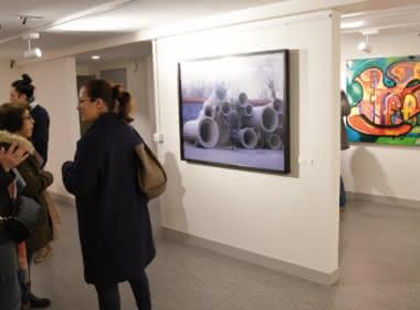 Photo de l'exposition L'Imperceptible de Liu Bolin