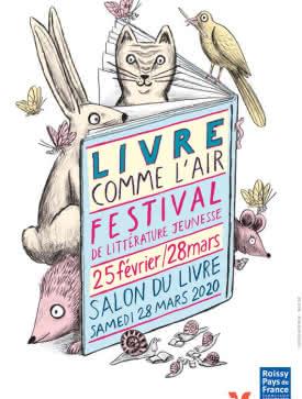 Affiche Festival littérature jeunesse 2020