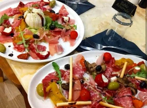 Restaurant italien La casa Victoria