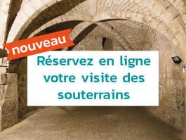 Visites guidées de Juillet & Août : Les souterrains de Pontoise