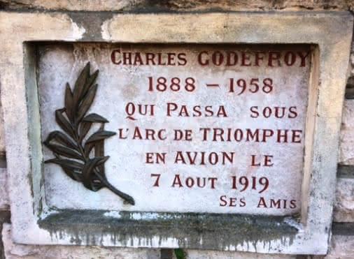 L'Exploit du Soiséen Charles Godefroy (1888-1958)