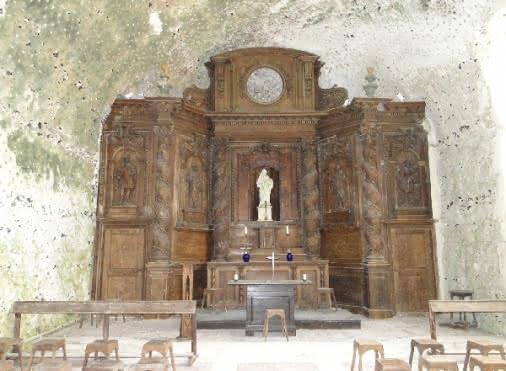 Eglise troglodytique de l'Annonciation