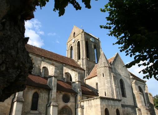 Eglise Auvers sur Oise - Extérieur village
