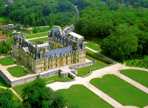 Parc du château d'Ecouen