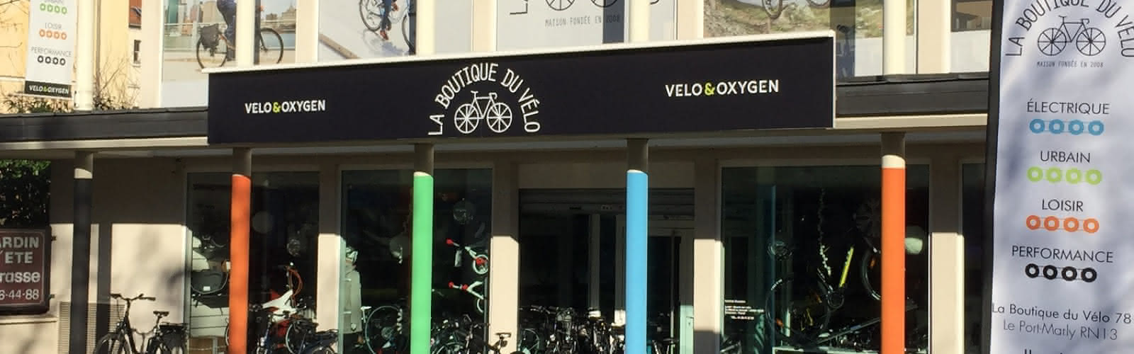 La boutique du vélo, Le Port-Marly