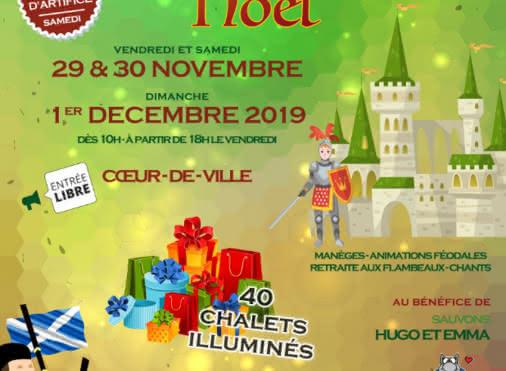 Marché de Noël à Luzarches
