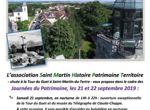 Journées du Patrimoine Saint-Martin-du-Tertre
