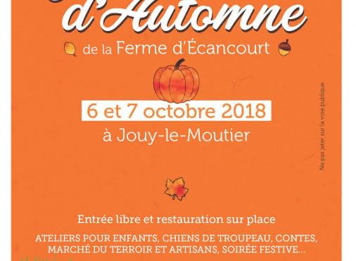 Les journées d'automne de la Ferme d'Ecancourt