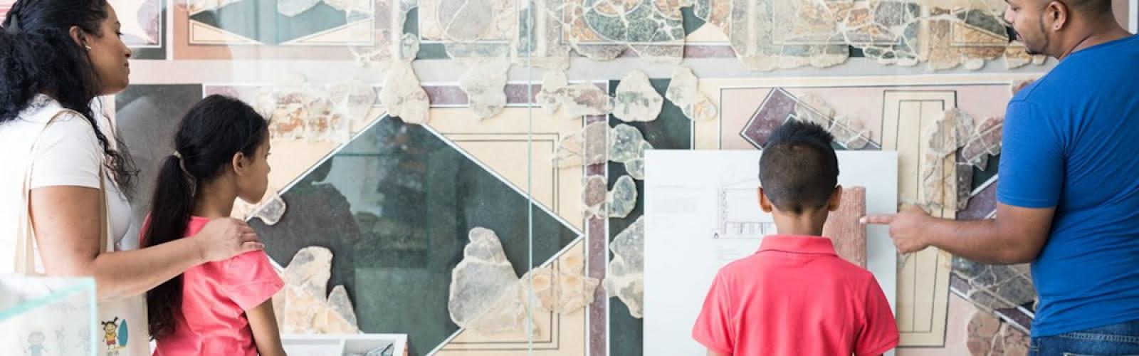 Visite familiale : à la découverte du musée Archéa