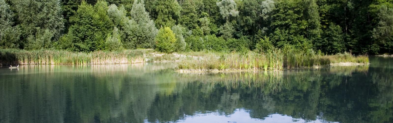 Le Lac Bleu de la Forêt de Carnelle