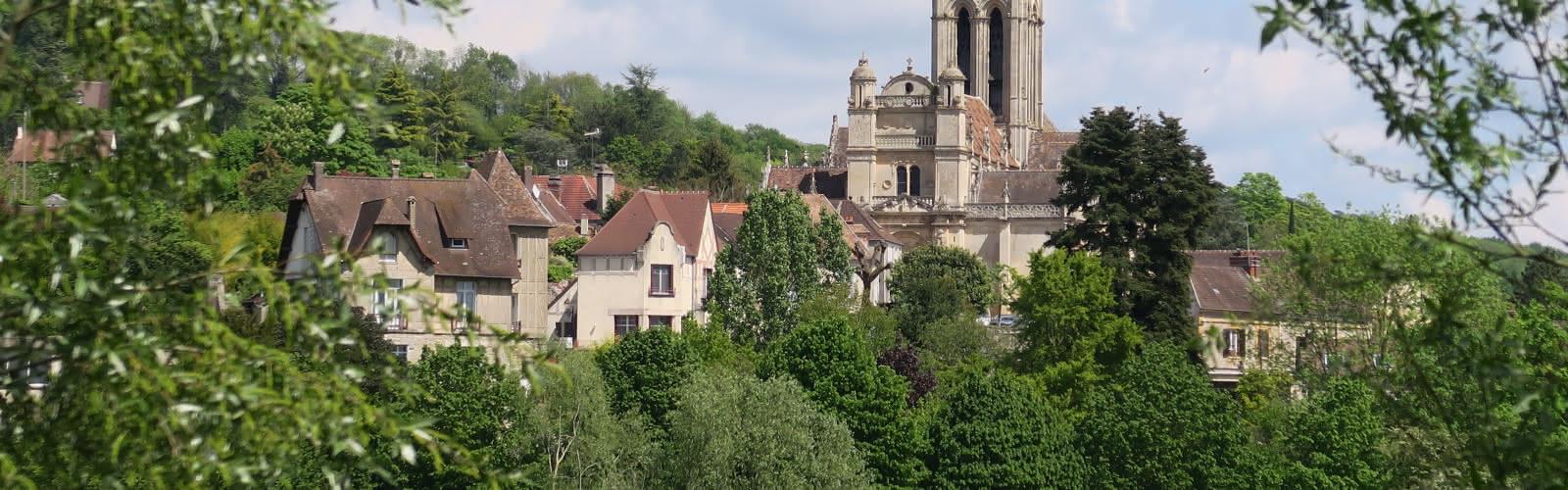 Vétheuil, vu de Lavacourt
