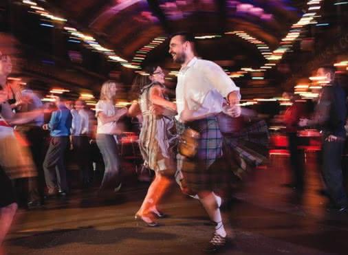 Bal traditionnel écossais