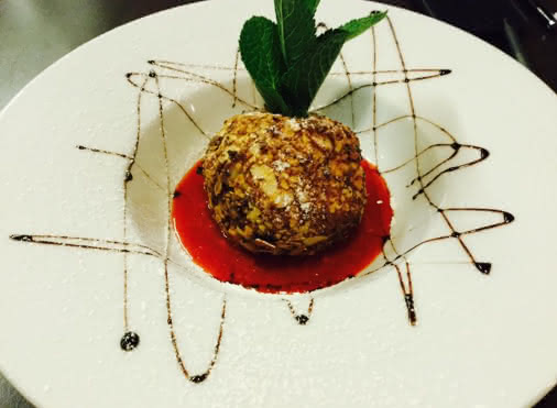 Dessert du restaurant Al Vicolo